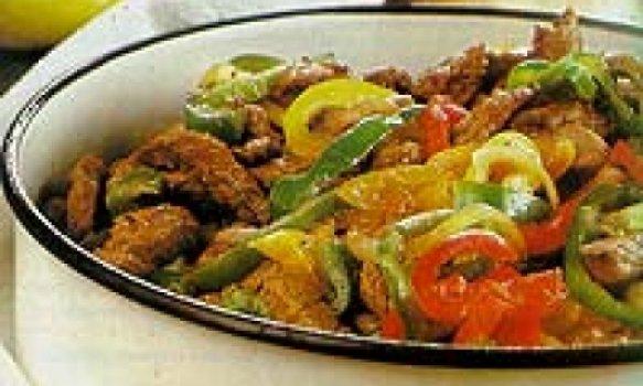 Fraldinha com legumes