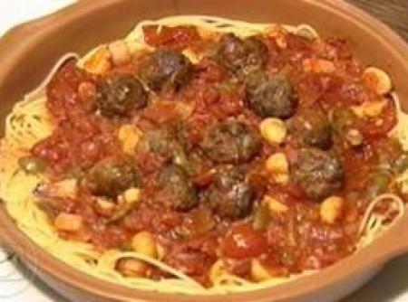 Spaguetti Com Polpetini