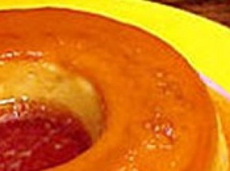 pudim laranja