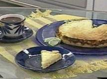 Torta de Limão e Damasco Light