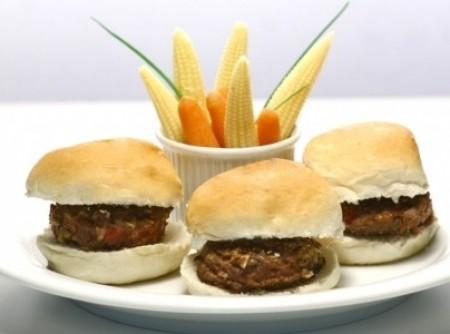 Hambúrguer de aveia