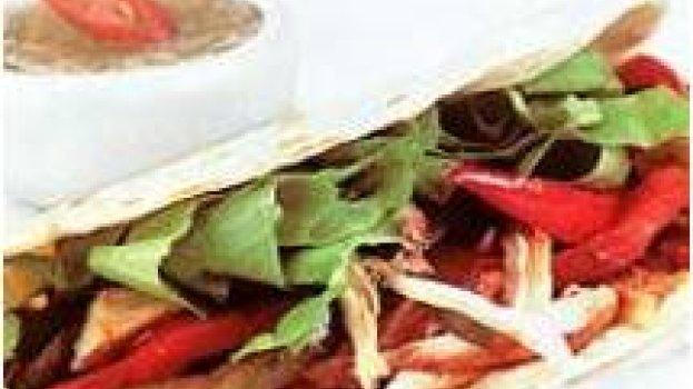 fetija de frango com molho mexicano