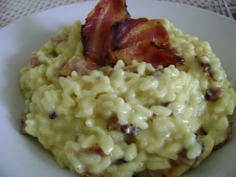 Risoto de Bacon