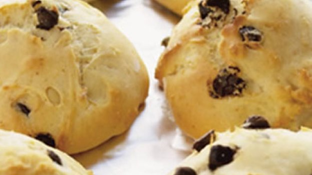 Scones com Gotas de Chocolate