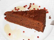 Bolo de Chocolate com Creme