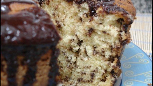 Bolo Formigueiro Coberto com Chocolate