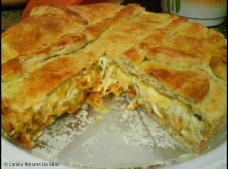 Torta salgada 2 recheios | MARCO ANTONIO
