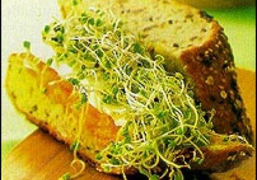 sanduiche com pasata de cenoura e brócolis