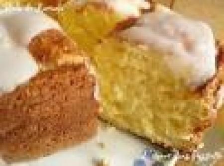 Bolo de Canela e Açúcar com creme de leite