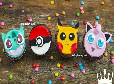 Cupcake de Pokemón | CyberCook