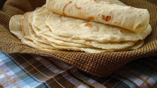 Massa de Pão Folha - Wrap