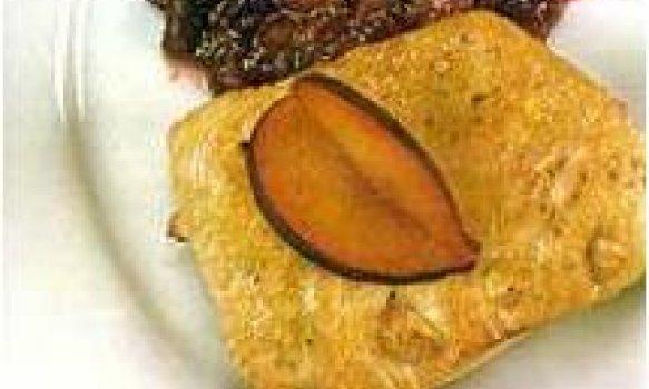 peito de peru com amendoas grelhadas