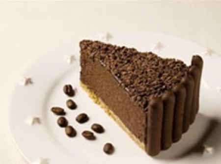 Torta mousse de café   Laís Borges