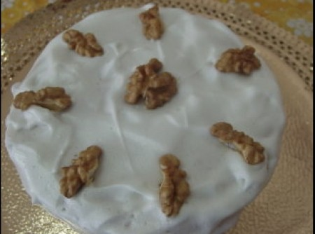 bolo branca de neve