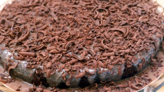 Torta de chocolate sem farinha