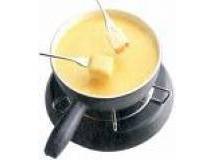 Fondue de queijo prato com Conhaque
