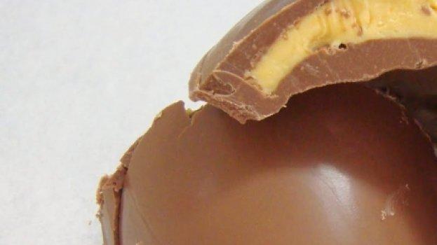 Ovo de Pascoa de Maracujá