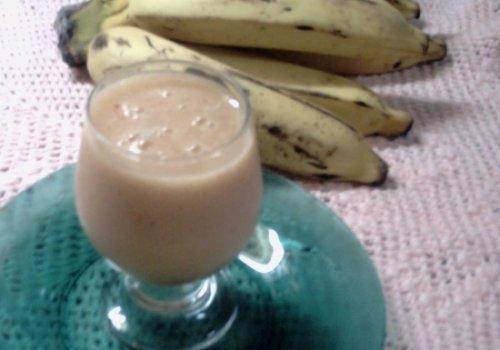 Vitamina de Banana com Maçã