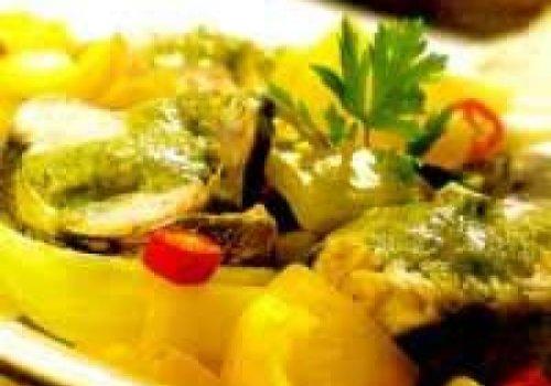 Bacalhau Fresco com Legumes