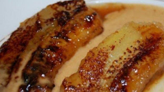 Bananas Caramelizadas Flambadas