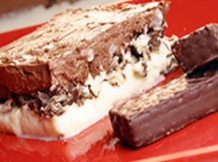 Torta gelada de waffer(bis)