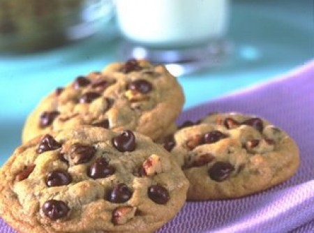 Cookies de Chocolate (com aveia)