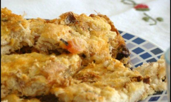 Torta de Bacalhau com Pão de Forma