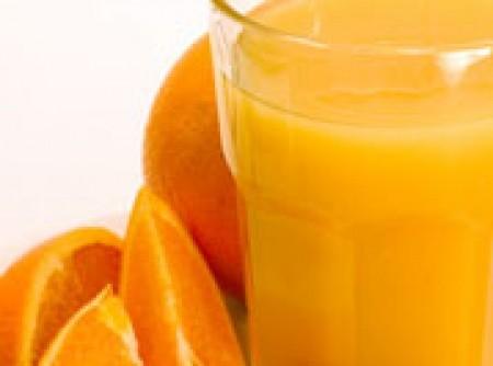 Suco de laranja com linhaça