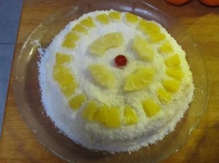 Torta de Abacaxi Massafra