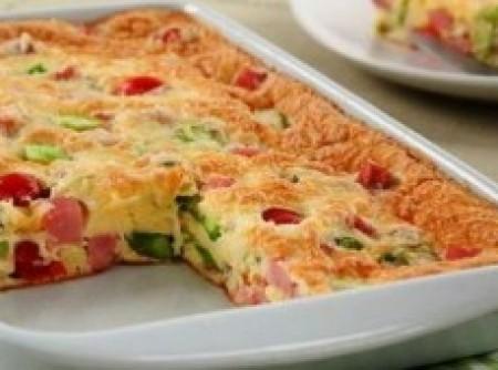 Omelete no Forno | Valeska Dominguez
