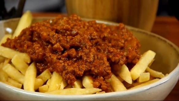 Sloppy Fries   Sanduba Insano