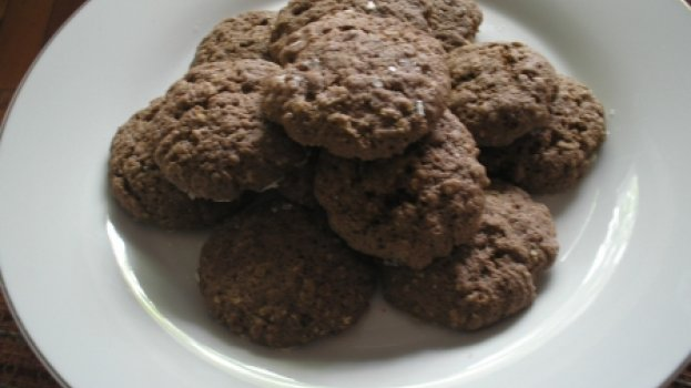 Cookies de Aveia para Microondas