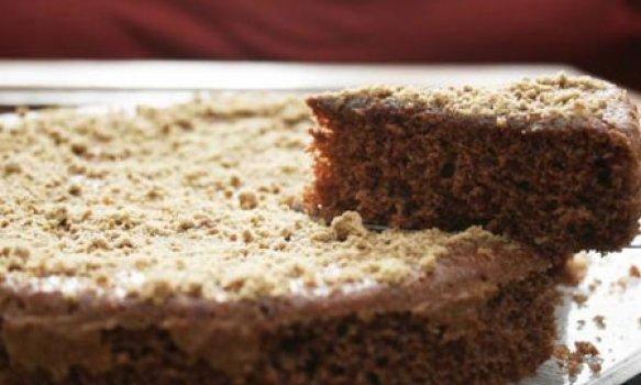 Bolo de chocolate com Açúcar Mascavo
