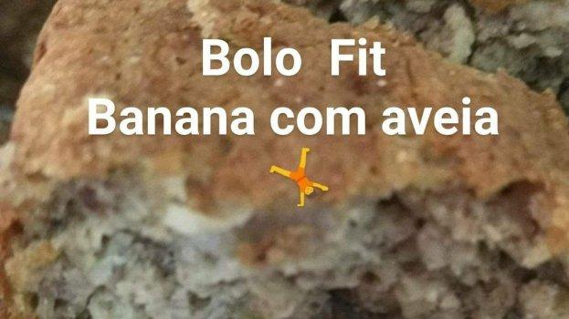 Bolo Fit de Banana com Aveia