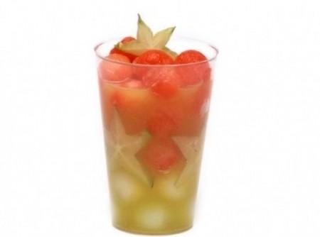 Bolinhas de frutas para as crianças