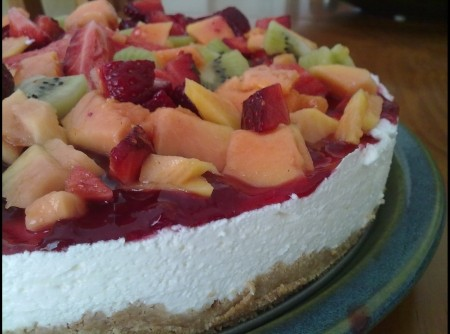 Cheesecake tutti fruit
