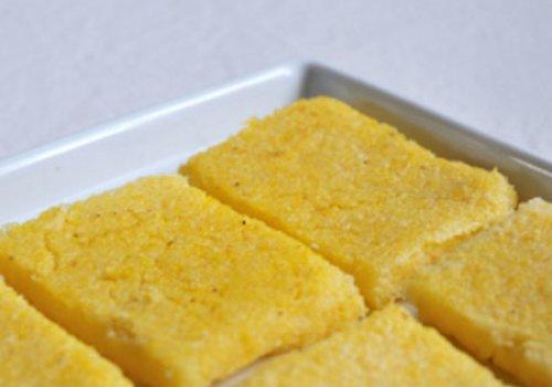 Polenta Frita no Forno