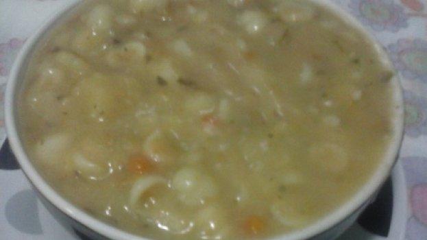 Sopa de Legumes com Aveia