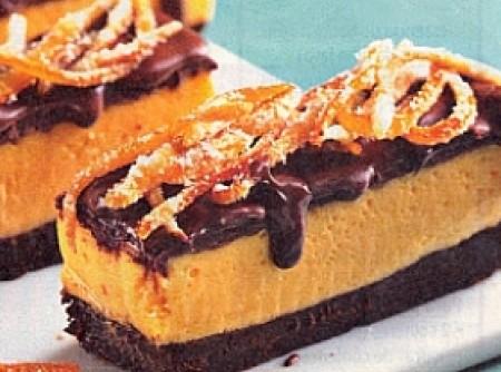 Torta de Chocolate com Creme de Laranja