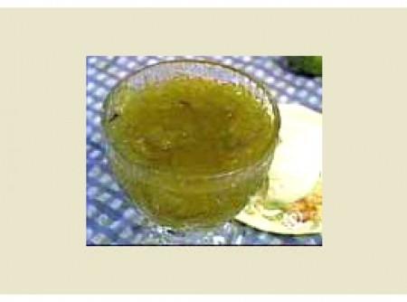 Compota de mamão verde