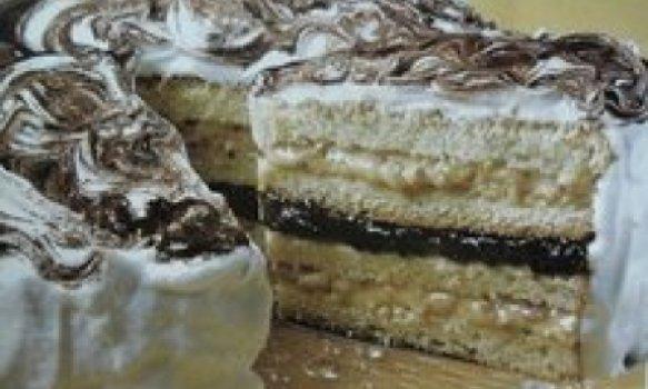 Massa branca para preparo de tortas recheadas