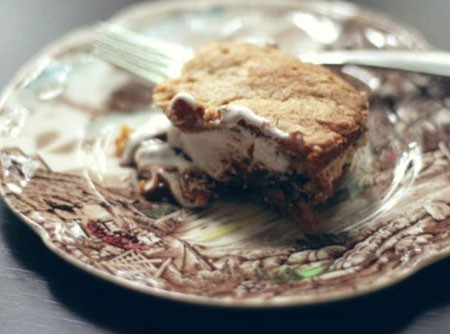 Torta de Barra de Chocolate