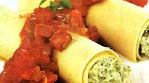 Canelone de Creme de Brócolis