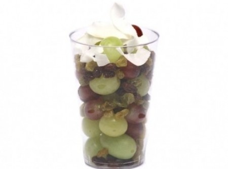 Salada de uvas para crianças