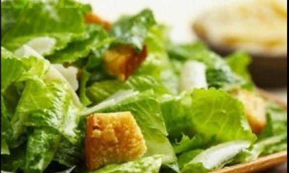 Salada Caesar ao estilo do Delírio Tropical (sem frango)