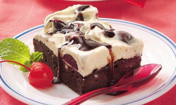 Torta de Brownie Supreme Gelada