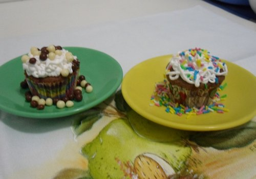 Cupcake de Chocolate Vegano (sem Ovos e sem Leite)