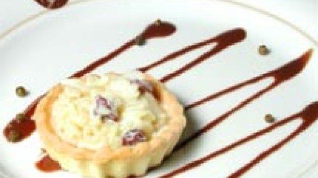 Tarte Sucrée a la Pâte au Riz, a la Vanille et Cannelle