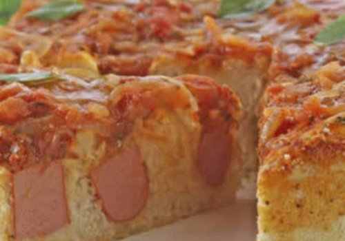 Torta de Salsicha Fácil