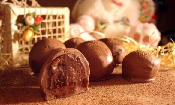 Trufas de Chocolate ao Leite